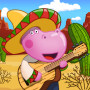 icon Mexican party. Cooking game for Kids