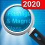 icon Magnifying Glass + Flashlight