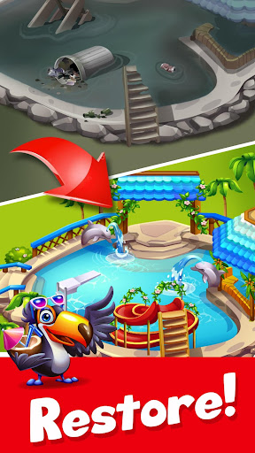 Tropic Trouble Match 3 Builder