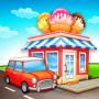 icon Cartoon City: farm to village