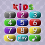 icon Baby Phone - Numbers, Animals