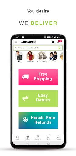 LimeRoad Men & Women Shopping