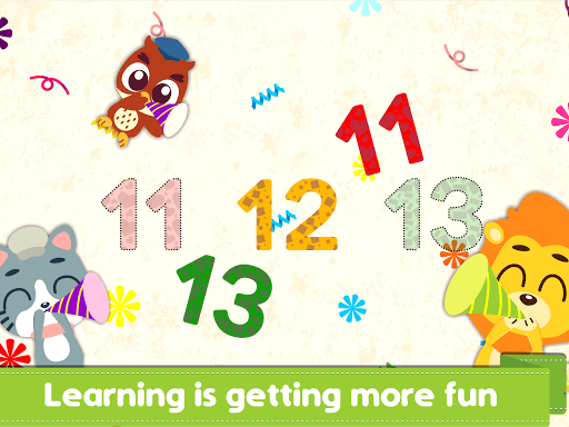 Marbel Learning Numbers