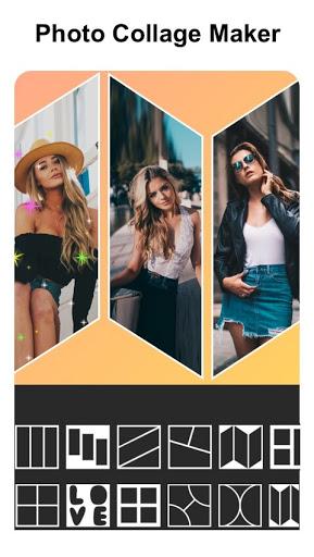 Insta square snap pic collage