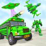 icon Bus Robot Car Game: Space Robot Transform War