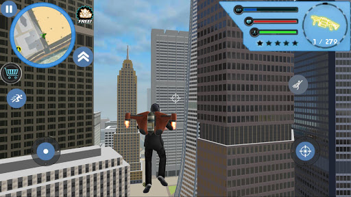 flying jetpack mafia Crime Simulator