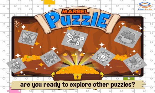 Marbel Puzzle Jigsaw for Kids