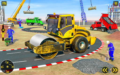 City Construction Simulator: Snow Excavator Games