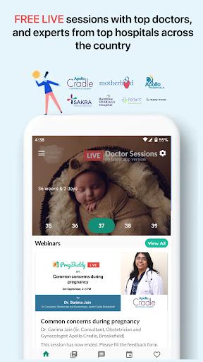 PregBuddy - Pregnancy Week by Week Tracker App
