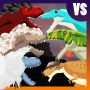 icon T-Rex Fights More Dinosaurs