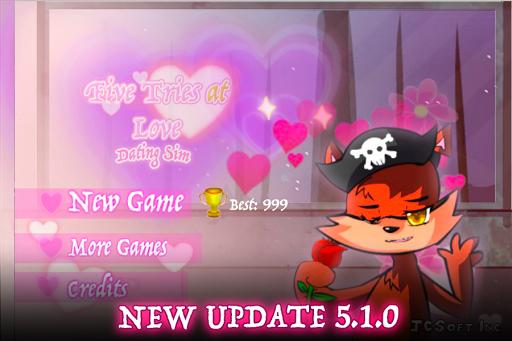 Five Tries At Love Dating Sim
