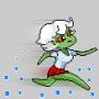 icon Virus Zombie Run - escape lab