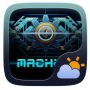 icon Machine Weather Widget Theme