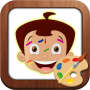 icon Draw & Color Chhota Bheem