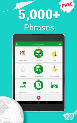 Learn German Phrasebook - 5000 Phrases