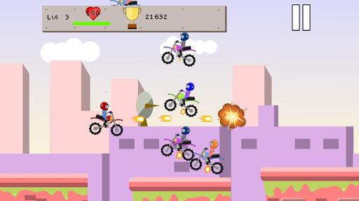 Flying Bike Race