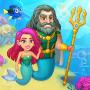 icon Aquarium Farm: fish town, Mermaid love story shark