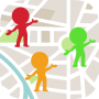 icon PinCom Location - Navigation/Social Network App