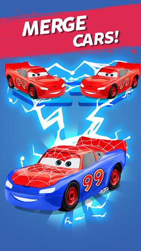 Merge Neon Car
