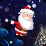 icon Santa Snow Fly