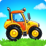 icon Farm land and Harvest - farming kids games