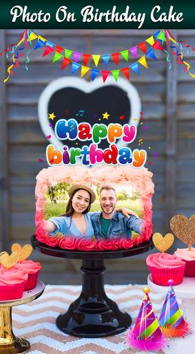 Photo On Cake 2020 : Birthday Cake Pics Editor