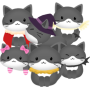 icon Bubble Cat