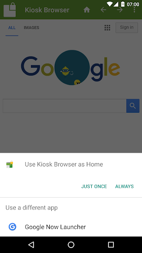 Kiosk Browser Lockdown