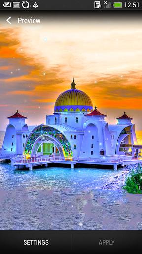 Beautiful Mosques HD Wallpaper
