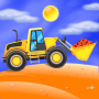 icon Build Kids Truck Repair Wash- Puzzle Learning Game