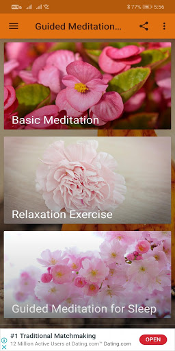 Guided Meditation Free App