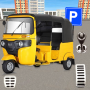 icon Modern tuk tuk Auto Rickshaw US driving simulator
