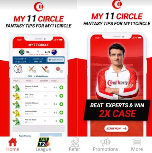 My Circle 11 - Teams Prediction For My11Circle